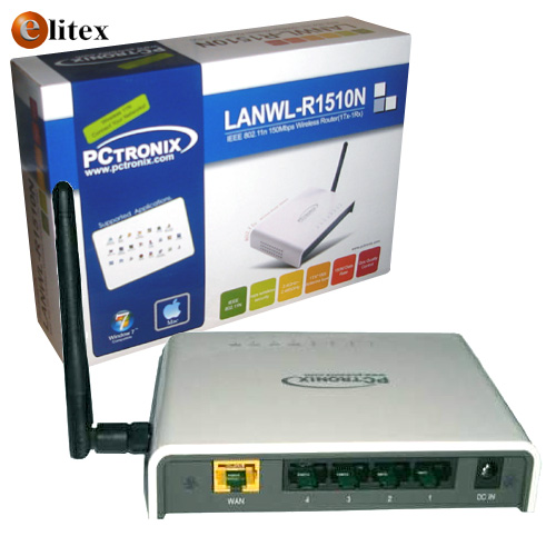 LANWL 11n 150 Router+Switch 4P #R1510N Caja€*