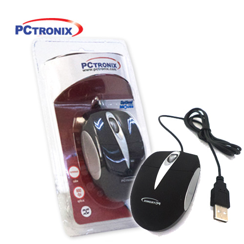 Mouse Mini #MOM-620USB (Rojo, Azul y Negro) 2BlisterSellado